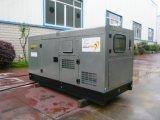 Aangedreven door de Dekking Yanmar van het Silent Diesel van het Type Roestvrij staal van Gensets (5KW-45KW)
