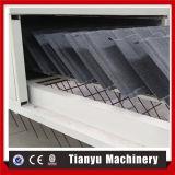 Rodillo de acero revestido de piedra de las hojas del azulejo del panel del material para techos que forma las máquinas