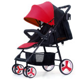熱いお母さんの思いやりがある赤ん坊の子供のための普及した手押車のベビーカー