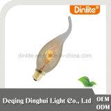 Chama de vela E14 25W lâmpada de filamento antigo para lâmpada pendente
