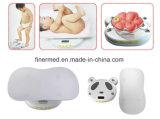 電子赤ん坊の幼児の重量を量るスケール