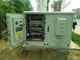 tipo compacto de enfriamiento acondicionador de aire de la placa de la capacidad 700W para la cabina al aire libre