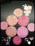 Le modèle d'art de marque de distributeur a mélangé la poudre cuite au four par produits de beauté de couleurs