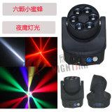 Nj-L6a LED 6PCS 15W 4 in 1 RGBW LED beweglichem Hauptlicht