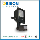 reflector montado en la pared del sensor de 10W-50W LED