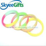 Beste unbelegte China-Hersteller-Gummipreiswerte Silikonmassenwristbands