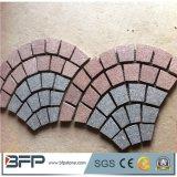 Piedra natural del adoquín del granito G654 para la pavimentación al aire libre