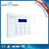 De geschikte Intelligente hoog-Gekwalificeerde LCD Gastheer van het Systeem van het Alarm voor de Veiligheid van het Huis