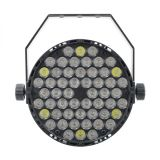 DMX512段階の照明のための新しい54X3w RGBW LEDの同価