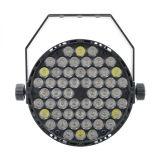 DMX512 단계 점화를 위한 새로운 54X3w RGBW LED 동위