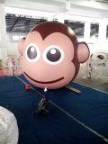 Ballon gonflable d'hélium de singe d'air de vente chaude
