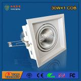 90lm/W 30W Aluminium-LED Gitter-Licht für Form-System