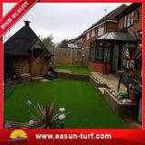Künstlicher Gras-Garten-Rasen-Gras-Rasen, der Rasen für Hausgarten landschaftlich verschönert
