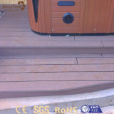 Modern billig Holz-Wie im Freien WPC zusammengesetzter Decking für Bodenbelag