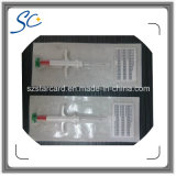 ISO11784/5 1.4*8mmのスポイトが付いているガラスマイクロチップペットIDの札