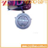 Изготовленный на заказ античной покрынная латунью монетка Mediallion логоса (YB-HD-34)