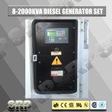 type insonorisé générateur diesel réglé se produisant diesel électrique de 185kVA 50Hz