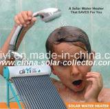 Calefatores de água solares de aço galvanizados da baixa pressão