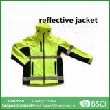 Segurança reflexiva elevada do estilo do Sportswear que veste o revestimento reflexivo