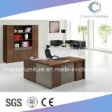 Diseño de proyecto L escritorio de oficina de madera de los muebles del vector de la dimensión de una variable