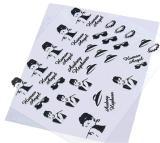 стикер ногтя стикера искусствоа ногтя переноса воды украшения конструкции 3D