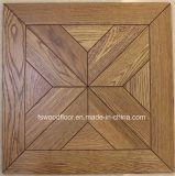 Plancher en bois de couche multi de parquet de médaillon de chêne
