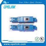 Переходника симплексный Sm оптического волокна LC для сети кабельного телевидения