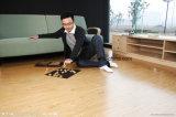 Plancher en bois de PVC des prix bon marché avec du ce et le GV