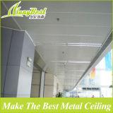 Tuiles en forme de s de plafond de bande de station-service en aluminium protégeant du vent