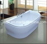 ホテルのプロジェクト(AT-1103)のための1720mmの壁の側面の浴槽の鉱泉
