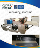 Belüftung-Karteembosser-Maschine, Plastikfilm-faltende Maschine