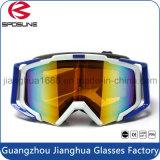 Beste verkaufende haltbare Sicherheits-Ski Eyewear stilvolle Auslegung-Doppelantinebel-Objektiv-Schnee-Einstieg-Schutzbrillen
