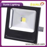 Заливающее освещение УДАРА черное/серое тонкое 200W СИД (SLFC220)