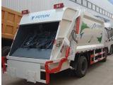 Foton Auling 4cbm 압축 쓰레기 트럭