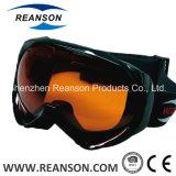 Lunettes antibrouillard de mobile de neige de lentilles de qualité de Reanson doubles