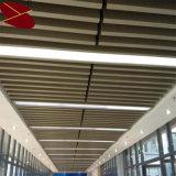 función incombustible blanca de Matt del espesor de 0.65m m del techo de aluminio decorativo del bafle