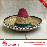 ギフトのための昇進のストリップの平野のメキシコ麦わら帽子