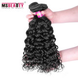 Do Virgin saudável da cutícula da alta qualidade cabelo ondulado peruano