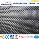 plaque décorative gravée en relief par couleur de l'acier inoxydable 304 316L