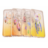 Galvanizar a colagem que pinta a caixa transparente do telefone da mandala TPU da pena para Huawei P8/LG G5/HTC 626 (XSDD-076)