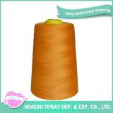 Linha de nylon de seda de rayon por atacado barato do poliéster para Sewing