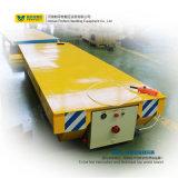 Carro de acero de la transferencia del carril del transportador de la eficacia alta