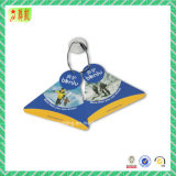 Hangtags de papel da alta qualidade para o vestuário/sapata