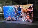 El nuevo panel de visualización curvado 500*1000m m de LED del diseño con LCD Displayer para P3.91, P4.81, P5.95, P6.25