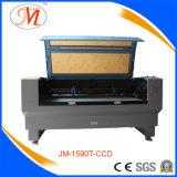 Máquina de corte e gravação de laser de design personalizado para corte de esponja (JM-1590T-CCD)