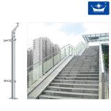Paso Escalera de acero inoxidable de balaustres