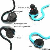 Auscultadores estereofónico da colar do fone de ouvido de Bluetooth do esporte