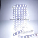 IP67 SMD5050 60LEDs / M tira flexible del LED blanco cálido
