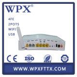 4ge 2VoIP WiFi FTTX를 가진 Wpx-EU9044 Gpon Ont ONU