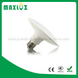 Alta calidad blanca caliente y UFO barato E27 ligero del precio LED